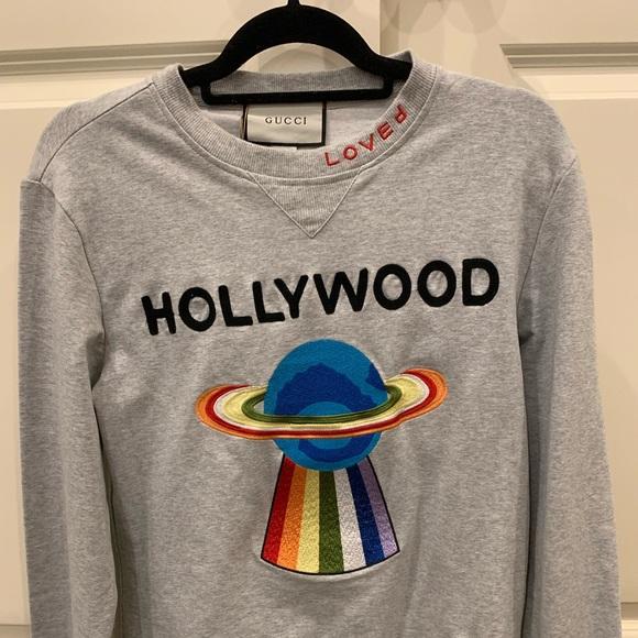 fa7436bd Gucci Sweaters | Hollywood Ufo Sweatshirt | Poshmark